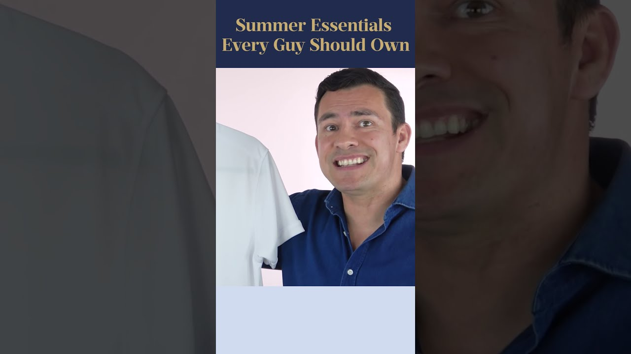 Top 10 Summer Essentials Every Man MUST Own #Shorts