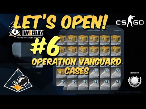 CS:GO - Let's Open Cases #6 Vanguard Cases