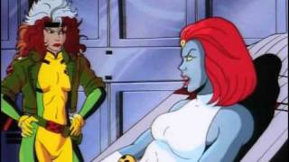 Awful voice acting by Mystique on X-Men.