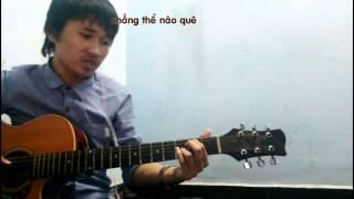 Bình yên nơi đâu (Cover guitar)