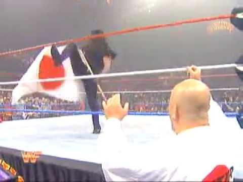 WWF Undertaker  with Chuck Norris  vs Yokozuna