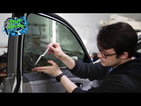 Tucking Window Tint Made Easy | No panel removal