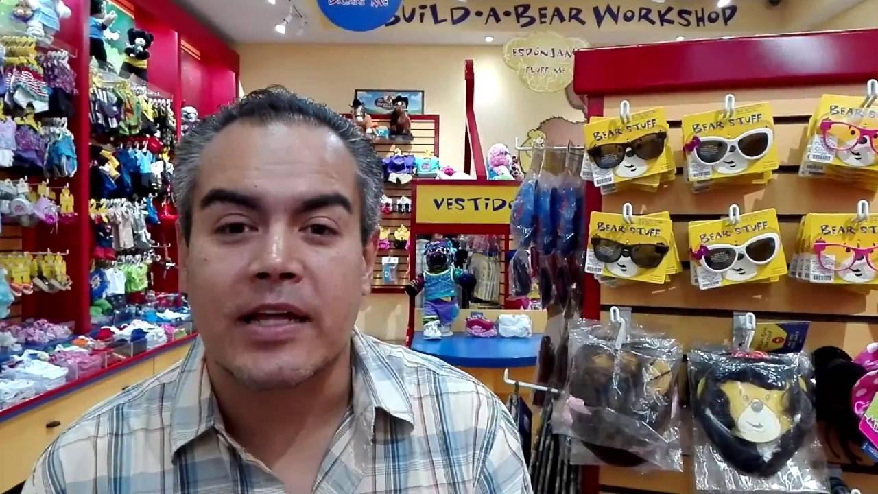 Creando un oso de peluche en Build-A-Bear Workshop México - YouTube 929c2fe7b7c