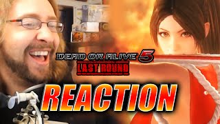 MAX REACTS: Mai Gameplay Trailer (Dead or Alive 5: LR)