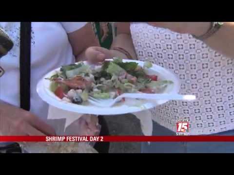 Day 2 of the National Shrimp Festival