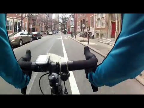 GoPro Cycling HD Philadelphia Rittenhouse Square 2018 (Center City)