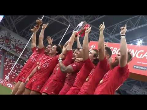 2017 Singapore Sevens — Canada wins first ever HSBC World Rugby Sevens Series cup title