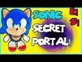 Sonic the hedge hog Plush Secret Portal Green Hills Zone Ep.1 Toys kids videos Super Mario