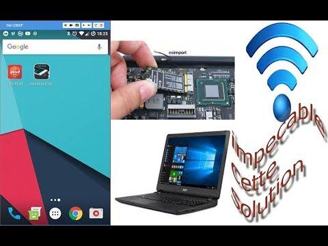 Comment Utiliser Le Téléphone Android Comme Carte Wifi Pour PC