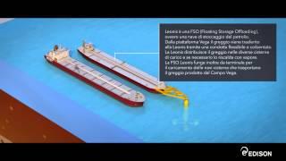 Come funziona la piattaforma petrolifera offshore Vega
