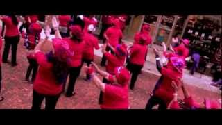 Red Hat Society performs Flash Mob Thumbnail