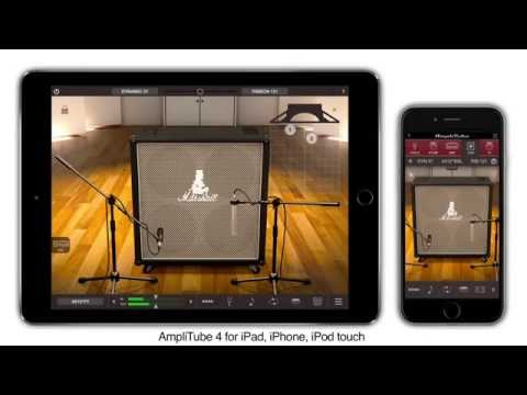 AmpliTube 4 iOS gear compared to Mac/PC versions