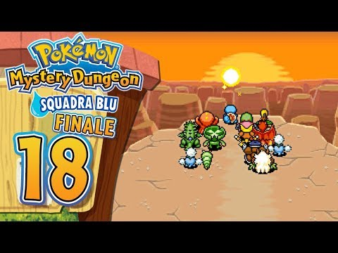 Pokemon Mystery Dungeon Squadra Blu ITA [Parte 18 - Rayquaza + Finale]