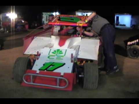 600 Modifieds - Linda's Speedway June 19, 2009 pt 1