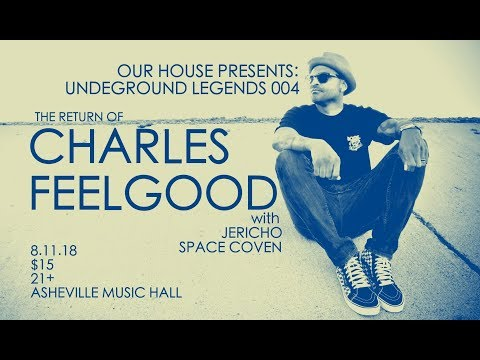 Charles Feelgood LIVE @ Asheville Music Hall 8-11-2018
