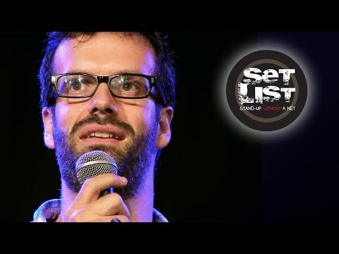 Marcus Brigstocke: Scapegoat Travel Agency - Set List: Stand-Up Without a Net