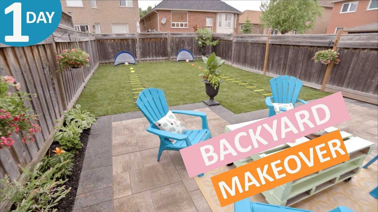 Backyard Makeover In A Day Scott S House Call S2 Ep 9 You