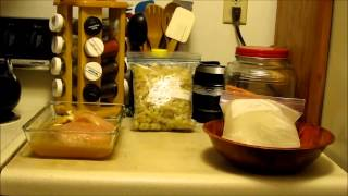 Pantry Challenge, Day 27: Kombucha Chicken, Red Lentils And Creamed Celery