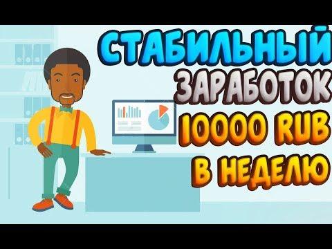Видео Заработок от 10 рублей в интернете без вложений