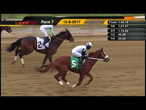 LAUREL PARK 12-8-17 RACE 7