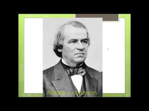 US History - The Reconstruction Era