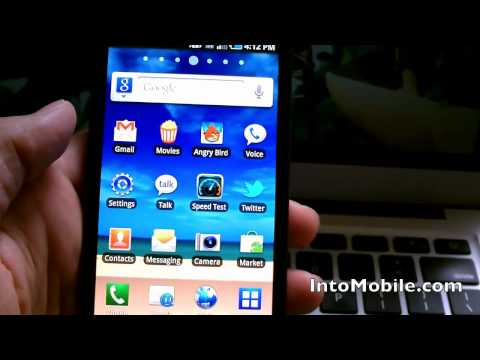 Samsung Infuse 4G - Hands On