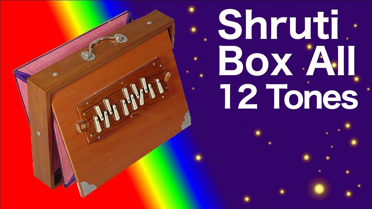 Shruti box drone free mp3 download. All 12 tones. Full saregama.