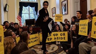 Activists and Alexandria Ocasio-Cortez Demand Nancy Pelosi Take Action on Climate, From YouTubeVideos