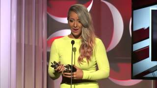 Jenna Marbles Wins Best First Person Series - Streamy Awards 2014