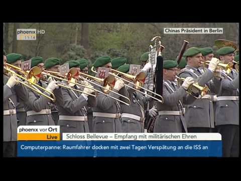 Chinese President Xi Jinping visits Germany