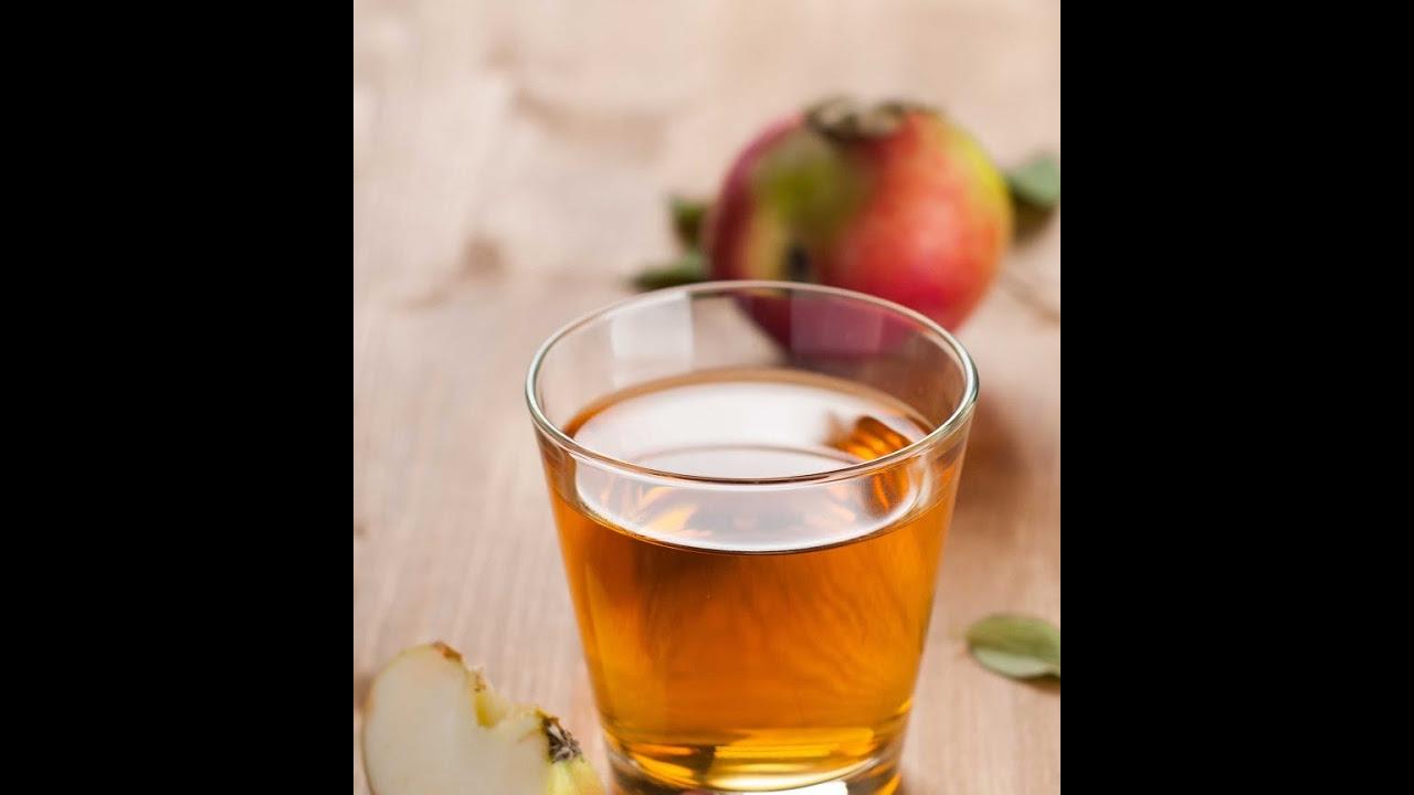 Evde Basit Elma Şarabı Yapımı