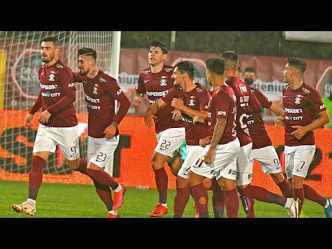 Rapid Bucharest CFR Cluj Goals And Highlights
