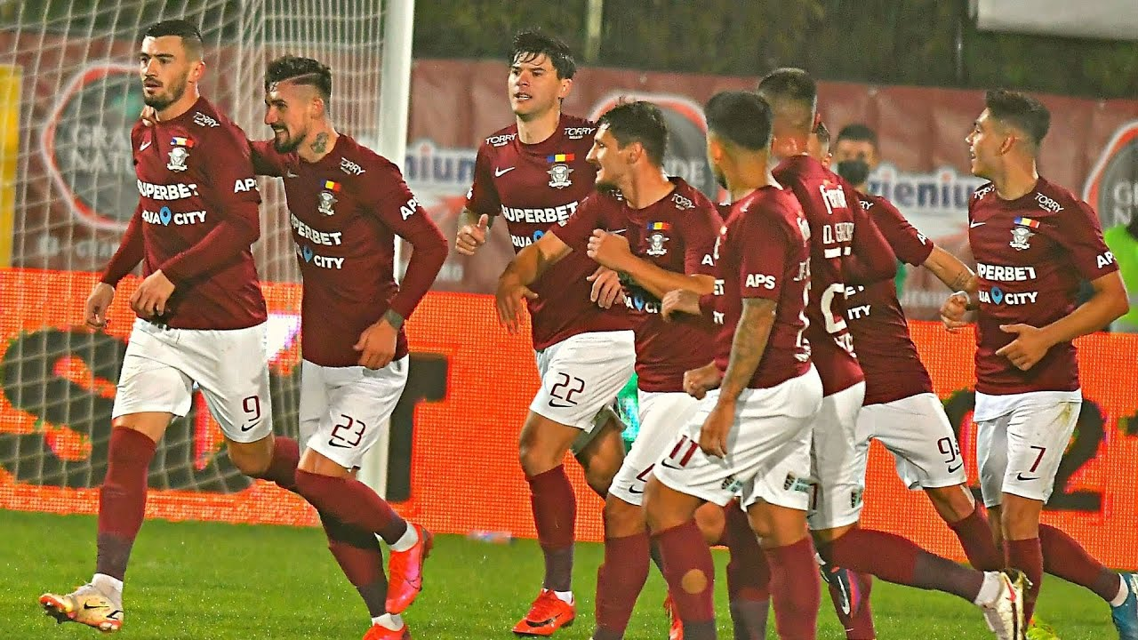 Download REZUMAT | Rapid - CFR Cluj 2-0. Adrian Bălan a reușit dubla contra echipei lui Dan Petrescu