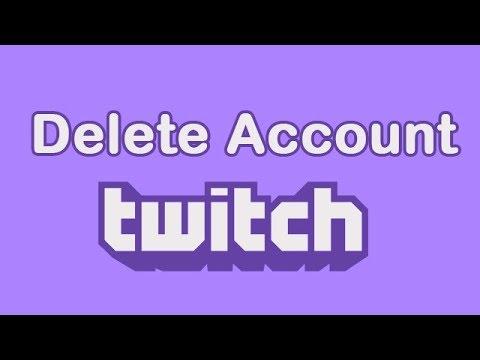 Как удалить Twitch аккаунт 2019