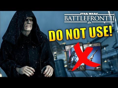 Star Wars Battlefront 2: The Worst Star Cards In The Game!
