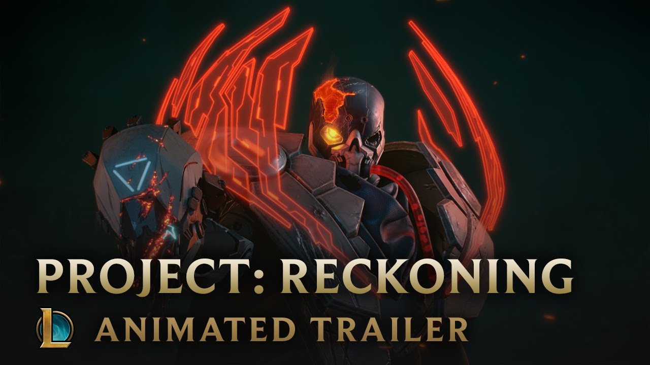 Outsiders | PROJECT: Reckoning Animated Trailer - League of Legends thumbnail
