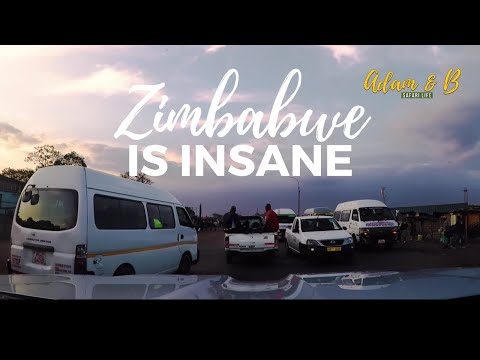 Zimbabwe is INSANE - Fuel Shortages, Road Blocks and DHL  |  Vlog S01E11