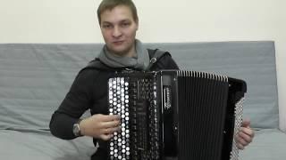 Самый крутой баян XXI века. Юпитер Гусарова с Русской миди системой.