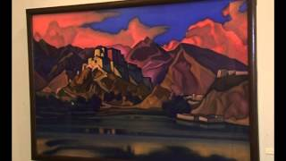 В Самару привезли 72 произведения Николая Рериха