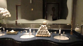 Luxury bathroom in The Burj Al Arab Most Luxurious Hotel in the World 7* stars DUBAI