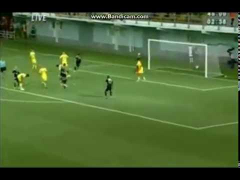 Dino Ndlovu GOAL FC Sheriff 0 1 Qarabag FK