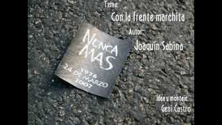CON LA FRENTE MARCHITA, Joaquín Sabina