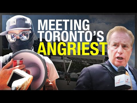 """""""Marxists and communists!� Toronto's tent city using Antifa tactics to silence (or deafen!) media"""