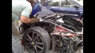 Sudura reparatii contra aripi Ferrari