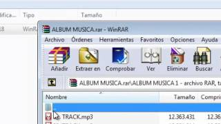 Corregir / Recuperar archivos dañados Error CRC con Winrar