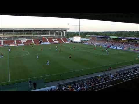 PRE-SEASON HIGHLIGHTS: Northampton Town 3 Barnet 0