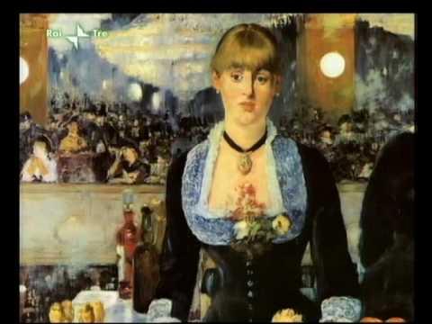 Art News - Secrets - I...A Bar At The Folies Bergere By Manet
