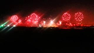 Dubai 2014 Record Breaking Fireworks Palm Jumeirah