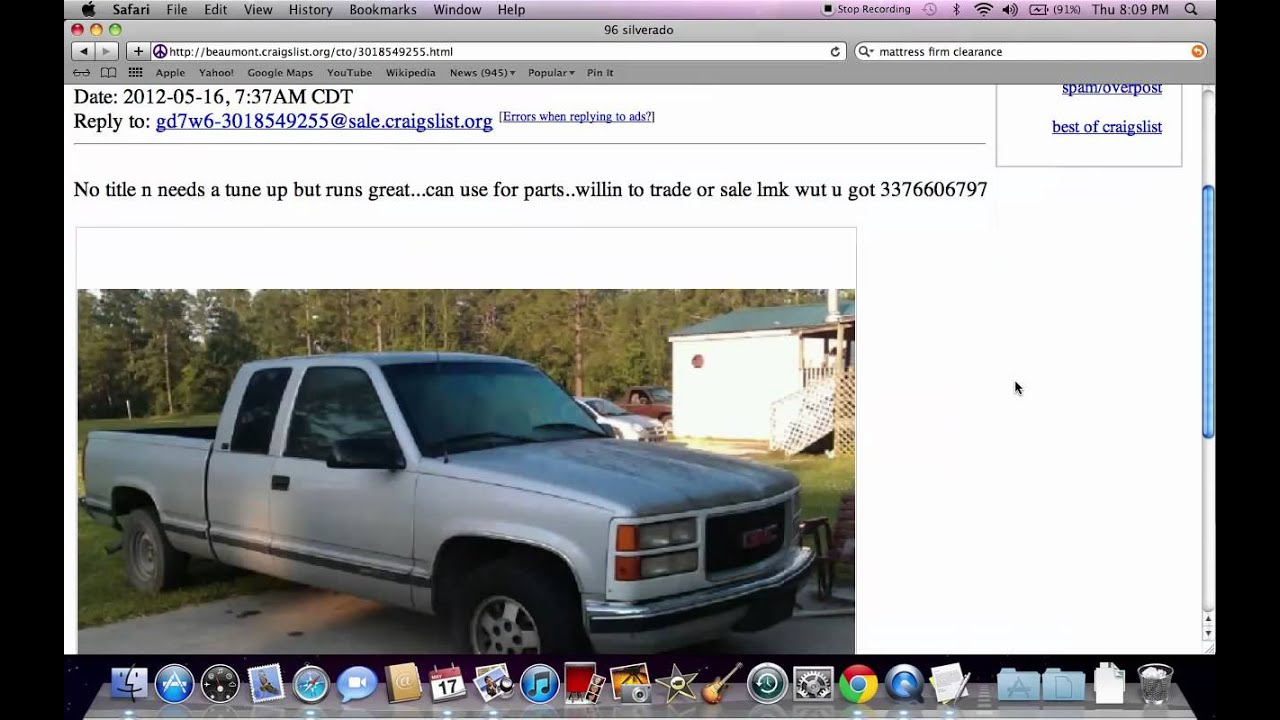Craigslist Used Cars Texas