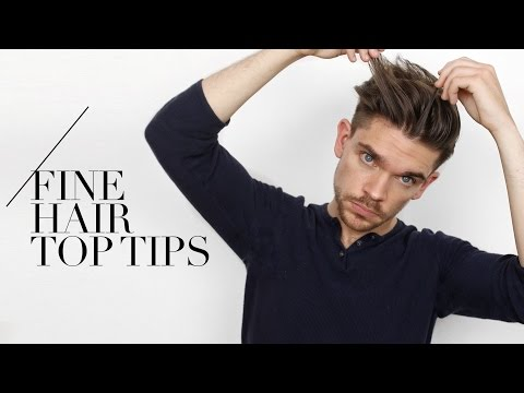 Tips For Guys With Fine Hair Swear By Them